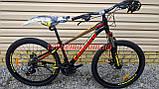 """Велосипед CAMARO Onix 26"""" черно красный рама 13,5"""" 15"""", фото 2"""