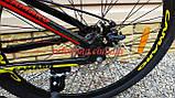 """Велосипед CAMARO Onix 26"""" черно красный рама 13,5"""" 15"""", фото 4"""