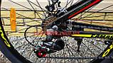 """Велосипед CAMARO Onix 26"""" черно красный рама 13,5"""" 15"""", фото 6"""