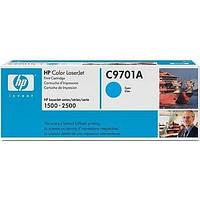 Лазерный картридж HP C9701A голубой (№121A) оригинальный, фото 1