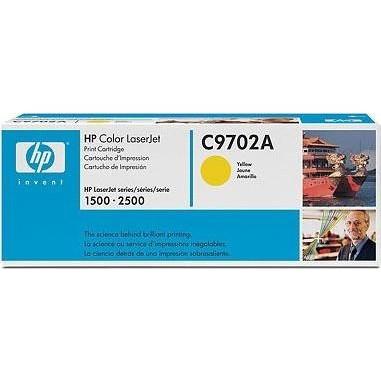 Лазерный картридж HP C9702A (№121A) желтый оригинальный