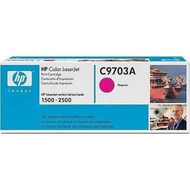 Лазерный картридж HP C9703A пурпурный (№121A) оригинальный
