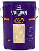 Паркетный лак без применения грунтовки Vidaron (матовый) 5 л