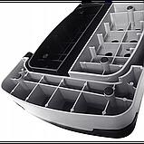 Степ-платформа 3-ступенчатая SportVida SV-HK0160, черный/синий, фото 4