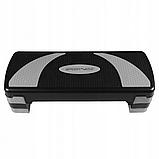 Степ-платформа 3-ступенчатая SportVida SV-HK0160, черный/синий, фото 6