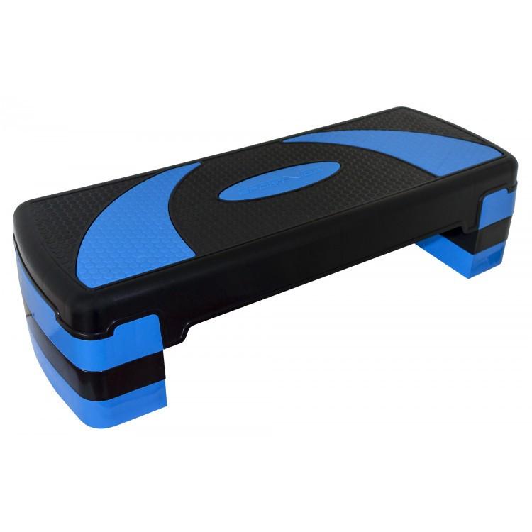 Степ-платформа 3-ступенчатая SportVida SV-HK0160, черный/синий