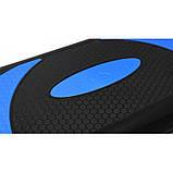 Степ-платформа 3-ступенчатая SportVida SV-HK0160, черный/синий, фото 3