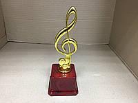 Статуэтка Скрипичный ключ 20 см