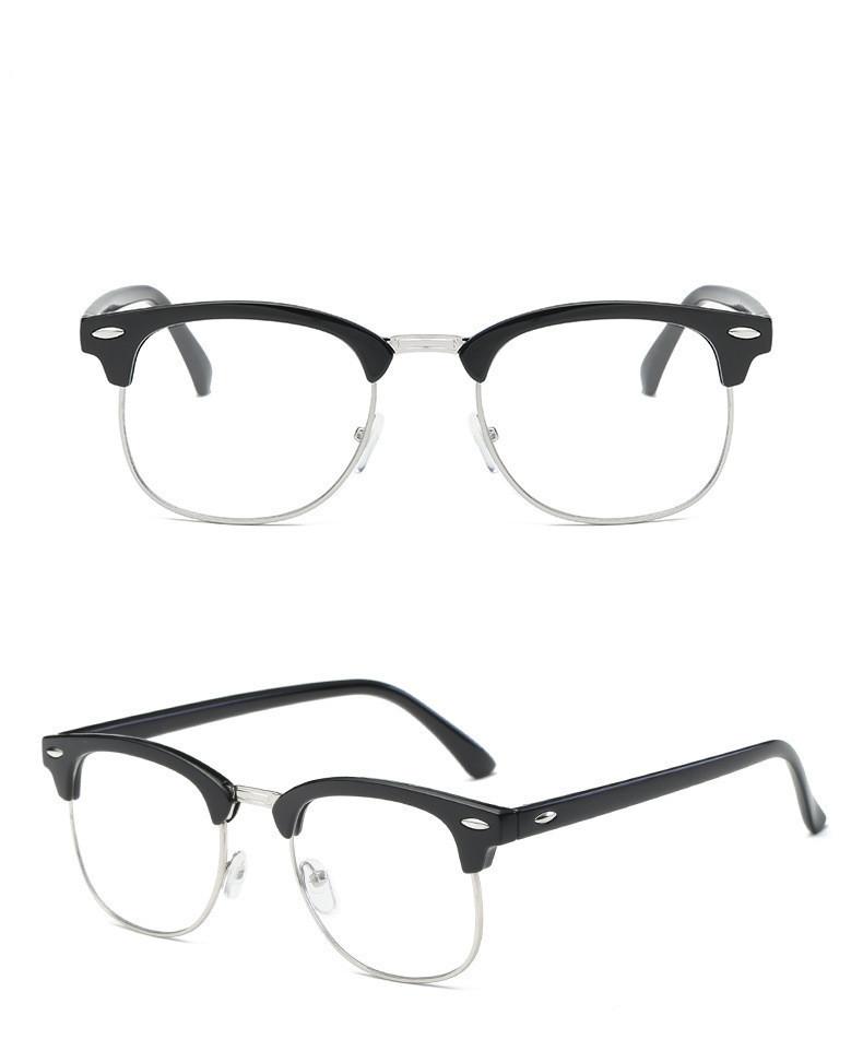 Kомп'ютерні окуляри Heon Black Silver | Имиджевые очки для компьютера KO-6