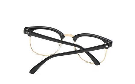 Kомп'ютерні окуляри Heon Black Silver | Имиджевые очки для компьютера KO-6, фото 2