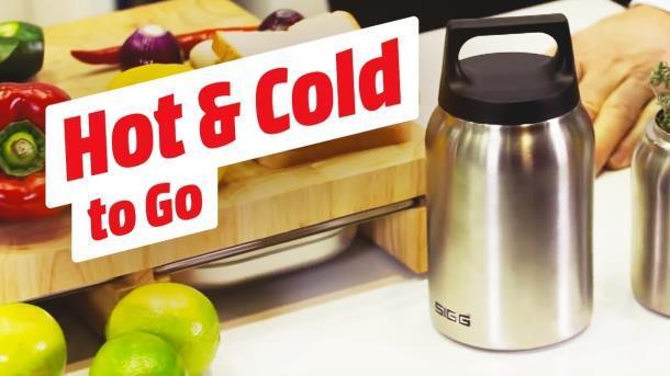 Термос пищевой SIGG Hot & Cold Jar Brushed 0.5 л (8618.20)