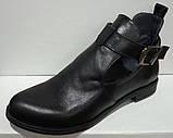 Туфли женские на низком ходу из натуральной кожи от производителя модель НИ-01228, фото 4