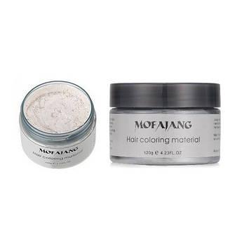 Окрашивающий воск для волос Mofajang Белый (hub_LtlJ66037)