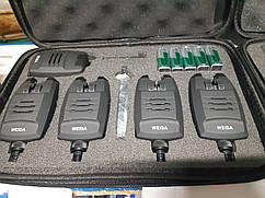 Набор сигнализаторов с пейджером Weida 214-4