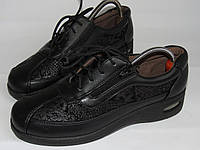 Стильные женские туфли-ботинки 38р (25см) T7