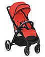 Дитяча прогулянкова коляска Babyzz B100 (червоний колір) + безкоштовна доставка, фото 2