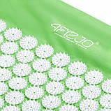 Коврик акупунктурный с валиком 4FIZJO Аппликатор Кузнецова 72 x 42 см 4FJ0024 Green, фото 3