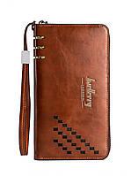 Мужской портмоне Baellerry Leather Коричневый(SUN0061)