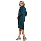 Платье тёплое, зелёного цвета, фото 3