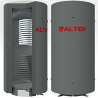 Буферная емкость (теплоаккумулятор) Альтеп ТА1В. 500 с верхним теплообменником без утеплителя