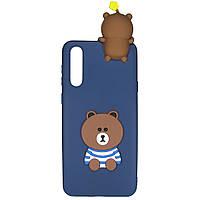 Чехол Cartoon 3D Case для Huawei P20 Мишка