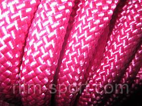 Скакалка для художественной гимнастики (цвет малиновый, Украина)