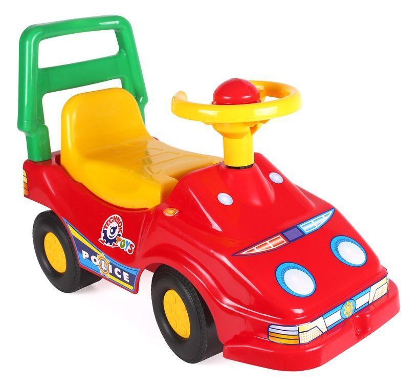 Машинка-каталка Экомобиль красный ТехноК (1196)
