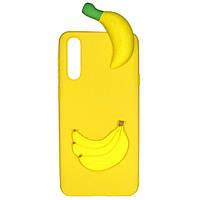 Чехол Cartoon 3D Case для Huawei P20 Бананы