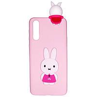 Чехол Cartoon 3D Case для Huawei P20 Кролик