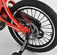 """Детский двухколёсный велосипед 14"""" с магниевой рамой и алюминиевыми двойными дисками Corso MG-14 S 615 красный, фото 5"""
