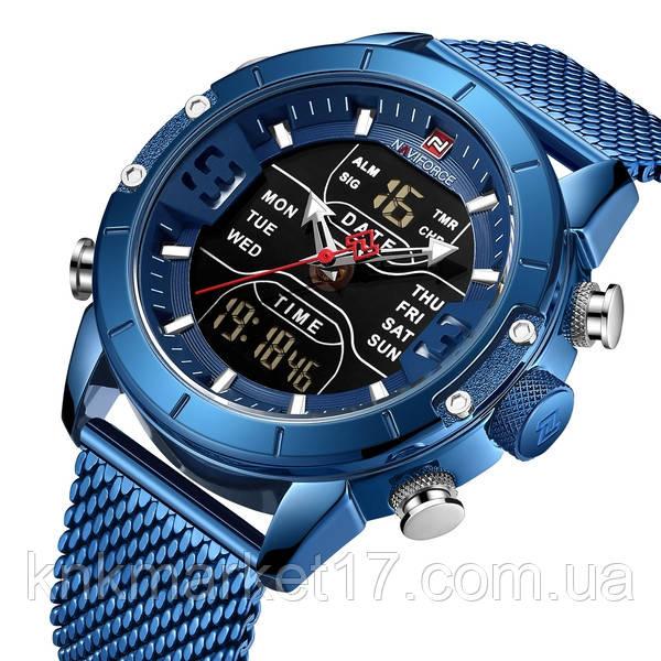 Naviforce Чоловічі годинники Naviforce Tesla Blue NF9153