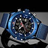 Naviforce Чоловічі годинники Naviforce Tesla Blue NF9153, фото 3
