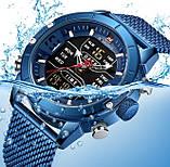 Naviforce Чоловічі годинники Naviforce Tesla Blue NF9153, фото 5