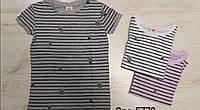 Модные футболки для девочки 110/160 см