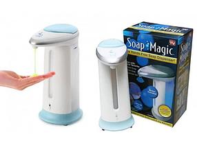 Сенсорний дозатор для мила, мильниця Soap magic диспенсер 300 мл