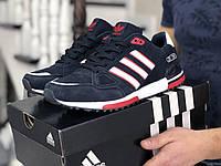 Кросовки Мужские Хит 2020 Adidas Синие с Красным ВЕСНА/ОСЕНЬ