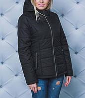 Модная демисезонная женская батальная куртка