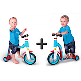 Scoot and Ride Highwaybaby+ Самокат-беговел 2 в 1 розовый Scooter and Ride On Toy, фото 2