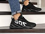 Чоловічі кросівки 700 (чорні) 9002, фото 2
