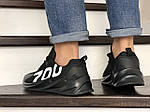 Чоловічі кросівки 700 (чорні) 9002, фото 4