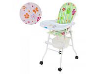 Детский стульчик для кормления складной BAMBI (M 0406)