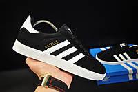 Кроссовки adidas Gazelle арт 20733 (черные, адидас), фото 1