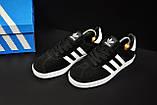 Кроссовки adidas Gazelle арт 20733 (черные, адидас), фото 5