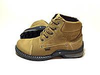 Мужские кожаные зимние ботинки Norman Old School Arena, фото 1