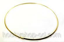 Основа для колье (диам.13,3 см) золото