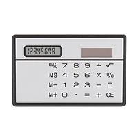 Ультратонкий калькулятор на солнечных батарейках! Сенсорный восьмизначный калькулятор в тонком корпусе!, фото 1
