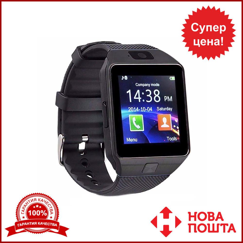 Умные часы Smart Watch DZ-09 чёрные. Умные смарт часы