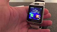 Умные часы Smart Watch DZ-09 чёрные. Умные смарт часы, фото 4
