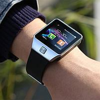 Умные часы Smart Watch DZ-09 чёрные. Умные смарт часы, фото 5