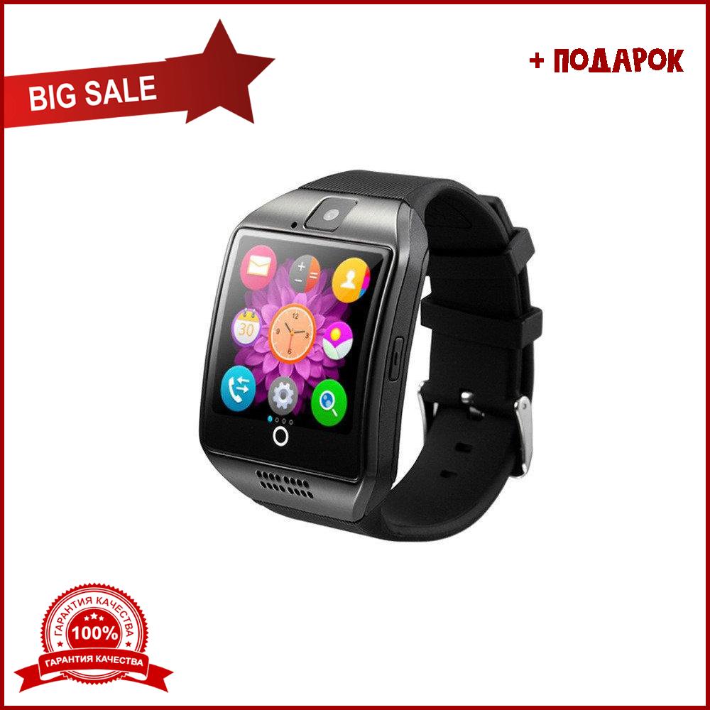Умные часы q18 черные. Smart watch black